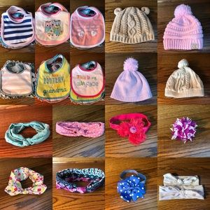 Infant/toddler girl head accessories